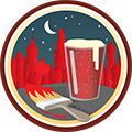 Paint the Town Red (Level 3) badge logo