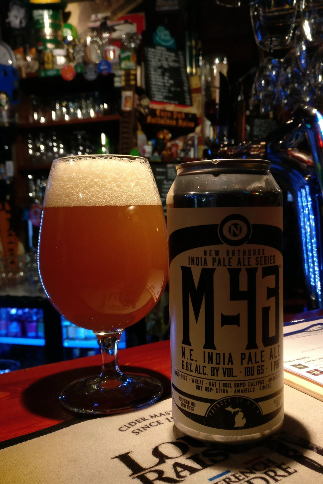 Untappd-arvio: M-43 N.E. India Pale Ale  (Old Nation Brewing Co.)