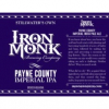 Payne County Imperial IPA label