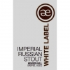 White Label Imperial Russian Stout Heaven Hill Barrel Aged label