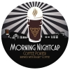 Morning Nightcap Coffee Porter brewed with BIGGBY® COFFEE  label