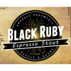 Black Ruby Imperial Espresso Stout label