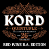 Kord Red Wine Barrel Aged label