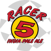 Racer 5 IPA label