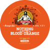 Nothing But the Blood Orange label