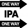 Brickway Brewery & Distillery One Way IPA