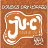 JU-C DIPA (Double Dry Hopped) label