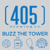 Buzz the Tower label