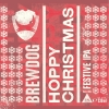 Hoppy Christmas label