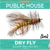 Dry Fly IPA  label
