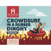 Crowdsurf In A Rubber Dinghy label