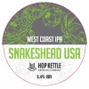 Snake's Head USA Edition label