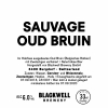 Sauvage Oud Bruin label