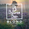 Buurse Bier Blond label
