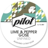 Lime & Pepper Gose label