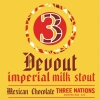 Devout (Mexican Chocolate) label
