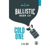 Cold One label