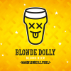 Blonde Dolly label