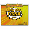 High Five Fiona label