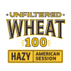 Unfiltered Wheat 100 label