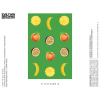 ET STAY HOME 18 - PINEAPPLE, PEACH, PASSIONFRUIT, BANANA label