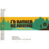 I'd Rather Be Juicing label