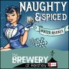 Naughty & Spiced Winter Warmer label