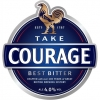 Take Courage Best Bitter label
