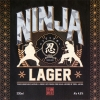 Ninja Lager label
