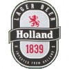 Holland Lager 1839 label