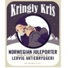 Kringly Kris Norwegian Juleporter label