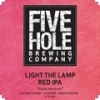 Light the Lamp Red IPA label