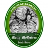 Molly Mcguires Irish Stout label