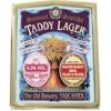 Taddy Lager label