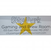 City Park Gaming and Brew Room logo